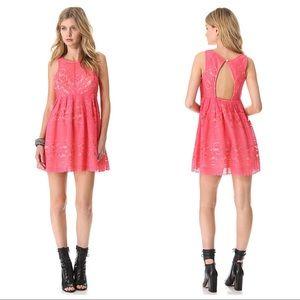 Free People 'Rocco' Lace Cutout Dress